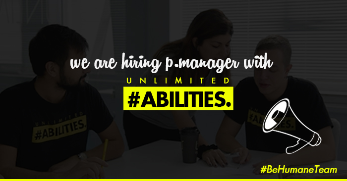 BE HUMANE TEAM   PROJECT MANAGER
